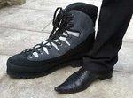 Fotos, Curiosidades, Comunicação, Jornalismo, Marketing, Propaganda, Mídia Interessante 383b3-leonid-shoes A Vida do homem mais alto do mundo Cotidiano Curiosidades