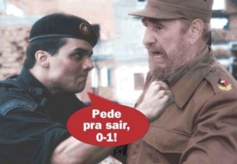 7a20e fidel 761195 bmp - 2008: Descoberta a real saída do líder Fidel Castro na época