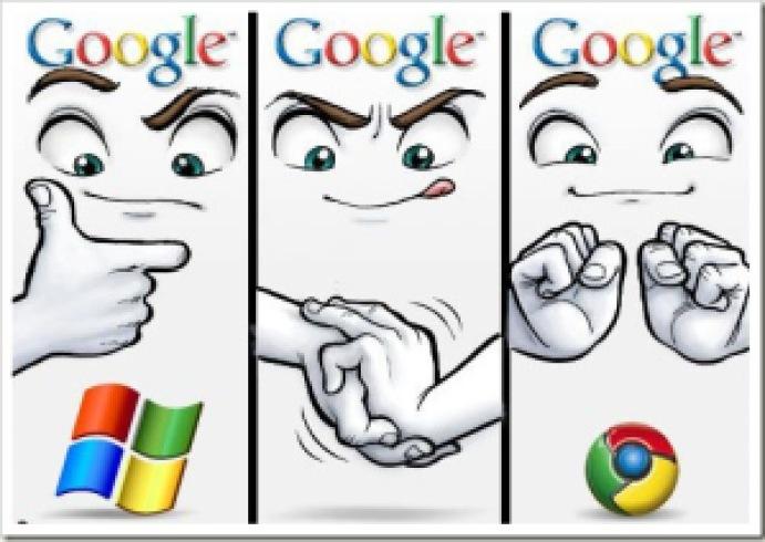 855b1 surgiugooglecrome - O surgimento do Google Chrome!