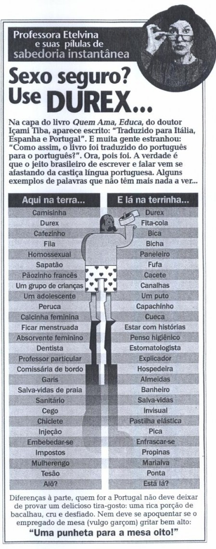 de446 brasileiro portugues - Diferença das palavras entre o português de Portugal e do Brasil