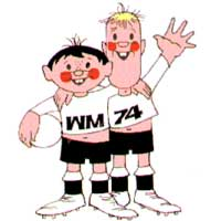 269b4 mascote da copa 1974 - Os piores mascotes de todas as Copas