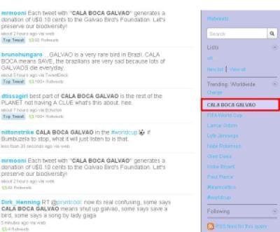 "491b1 calaboca - A frase ""Cala Boca Galvao"" foi o Top do Trending no Twitter"
