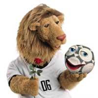 a8f58 mascote da copa 2006 - Os piores mascotes de todas as Copas