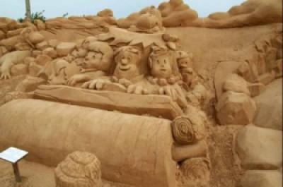 01f72 arte arena de playa 23 500x332 - Lindas Esculturas de Areia - Parte #1