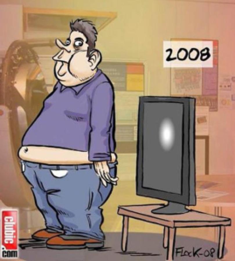 03de6 telespectador 2011 - A evolução do ser humano junto com os aparelhos eletrônicos