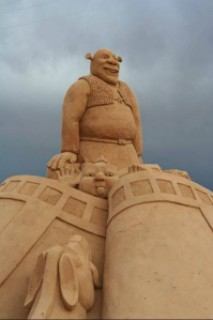 533ca arte arena de playa 17 500x746 - Lindas Esculturas de Areia - Parte #1