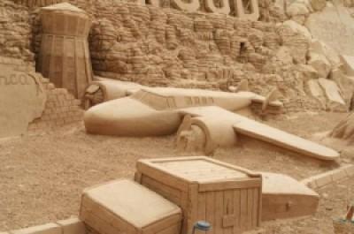 6dbad arte arena de playa 21 500x332 - Lindas Esculturas de Areia - Parte #1