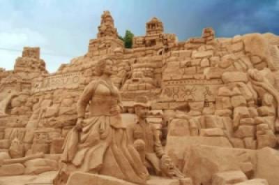 88187 arte arena de playa 22 500x332 - Lindas Esculturas de Areia - Parte #1