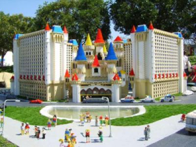 a95db legoland california las vegas 3 - Legolândia - O Sonho de tijolos
