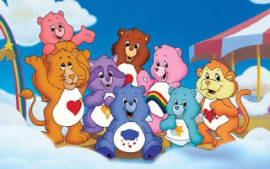 b0cb6 ursinho carinhosos sbt care bears - Os 10 desenhos mais inesquecíveis para crianças que viraram 3D