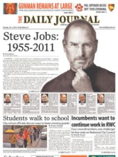 e5d3e steven jobs jornais 4 - Capas e Manchetes: Mídias Internacionais dedicam o dia ao grande Steven Jobs