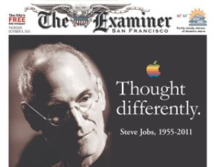 fbb29 steven jobs jornais 1 - Capas e Manchetes: Mídias Internacionais dedicam o dia ao grande Steven Jobs