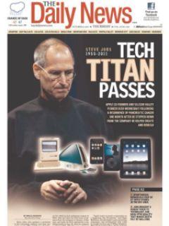 fd6fa steven jobs jornais 6 - Capas e Manchetes: Mídias Internacionais dedicam o dia ao grande Steven Jobs