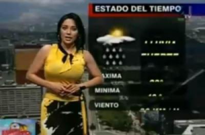 9aa32 female reporter 9 - Previsão do Tempo! Pra quê?