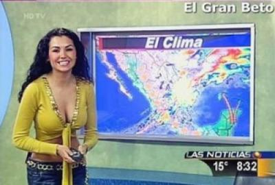 c722c female reporter 10 - Previsão do Tempo! Pra quê?