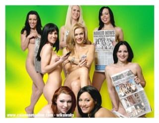 d16b3 naked news o mais ousado - Qual o jornal mais ousado do mundo?
