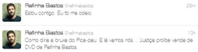 """90197 print rafinhabastos 02022012 - 2012: DVD de RAfinha Bastos """" A arte do insulto"""" é proibido"""