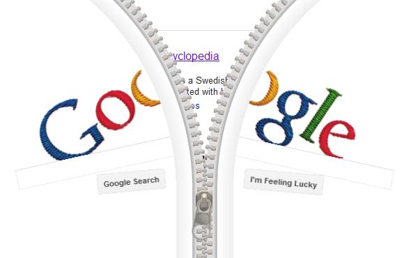 5016b gideon sundback google doodle 24 april 2012 gideonsundback engenheirosueco americanoelc3a9trica gideonsundbackc3a9maiscomumenteassociadocomoseutrabalhonodesenvolvimentodozc - Inventor do Ziper: Gideon Sundback é homenageado pelo Google