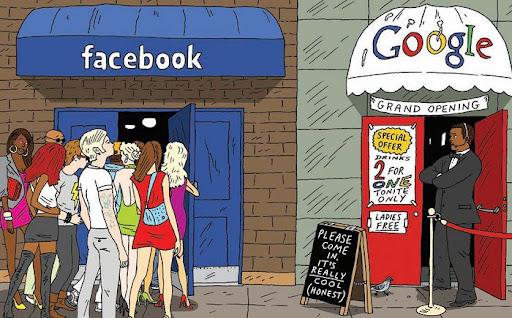9cb75 facebookxgoogle2 - (Google x Facebook) Facebook vai ser o maior site do Mundo?