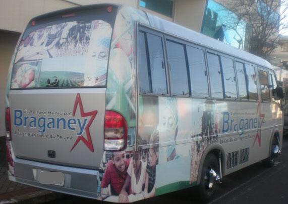 ed668 onibus corinthians corinthianos braganey paraguai ciudade del est - Corinthianos usam ônibus da prefeitura para ir a jogo no Paraguai