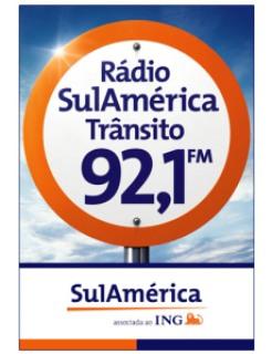 f2499 radio sulamericana transito - Rádio Sulamérica Trânsito ajudou gestante sair do congestionamento