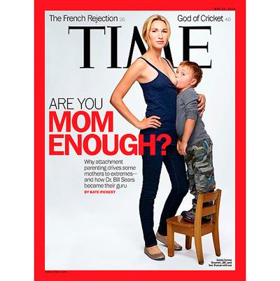 3f8f0 capa de revista da time mae amamentando causa polemia estados unidos - Capa da Revista TIME causa polêmica nos Estados Unidos