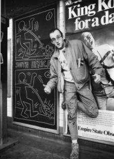 4d925 keithharing subway metro1 - Keith Haring - Google fez homenagem ao artista e ativista