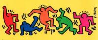 768da grafitti de keithtalksabouthissubwaydrawings - Keith Haring - Google fez homenagem ao artista e ativista