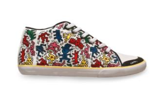 abd29 tenis - Keith Haring - Google fez homenagem ao artista e ativista