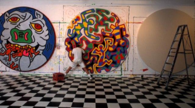ad391 keith haring happybirthdaykeith - Keith Haring - Google fez homenagem ao artista e ativista