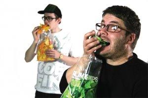 "b4eac salgadinho - Salgadinho de Papel ""Slim Chips"""