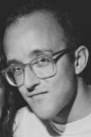 c6154 keithharingportrait keithharing foto - Keith Haring - Google fez homenagem ao artista e ativista