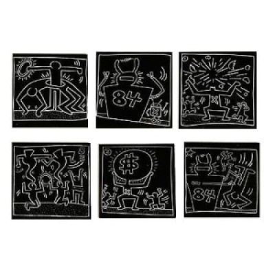 f1211 keithharing subway metro2 - Keith Haring - Google fez homenagem ao artista e ativista