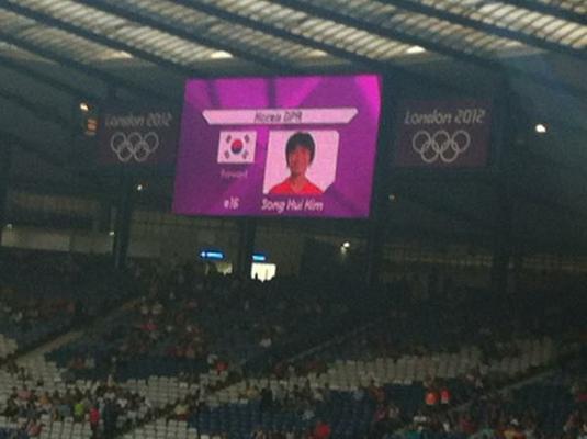 69d15 gafe coreia do norte e sul nas olimpiadas de londres - Gafe com a seleção Norte Coreana nas Olimpiadas. Será mesmo?