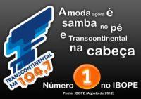 3b3b6 transcontinental - 2012: Emissoras de rádio FM mais ouvidas de São Paulo