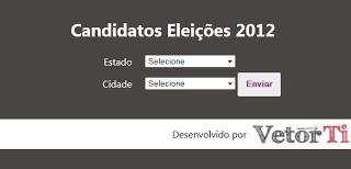 58ca2 vetor ti eleicoes 2012 site - 7 Sites Diferentes