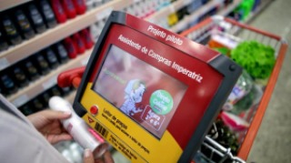01114 promocart5 - Assistente de Compras com Geolocalização Acoplado ao carrinho de Supermercado