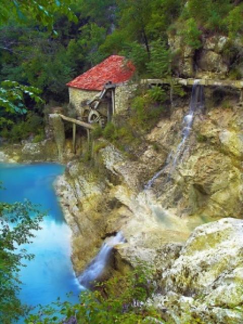 5bd3c old mill istra croatia - Lugares maravilhosos de tirar o fôlego - Parte #01