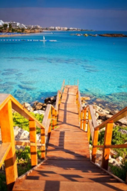 81b1c turquoise sea cyprus - Lugares maravilhosos de tirar o fôlego - Parte #01