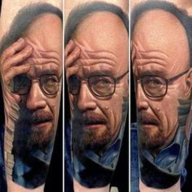"13120 ab722faf5db6fb296cbe54a8e966f98a - As 33 Melhores Tatoos de Walter White - Vulgo ""Heinsemberg"""