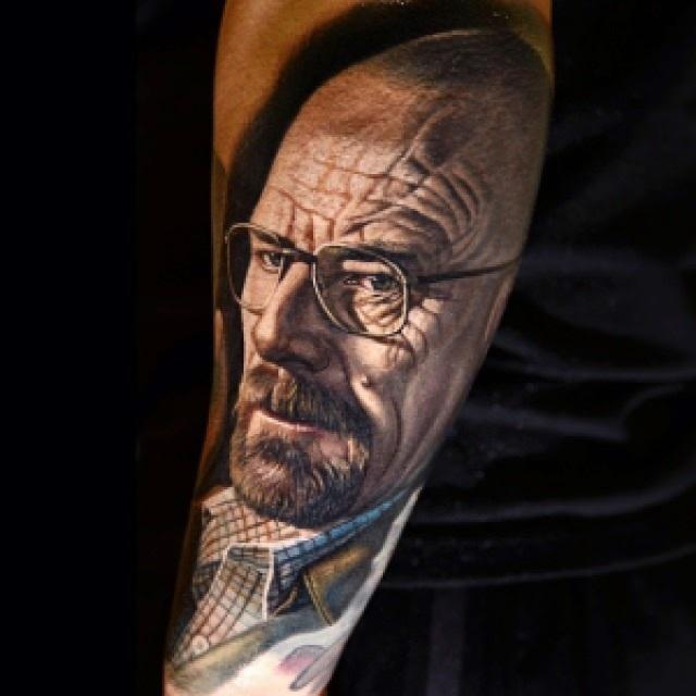 """76343 tumblr n0ecoqf5bi1qzpxx1o1 1280 - As 33 Melhores Tatoos de Walter White - Vulgo """"Heinsemberg"""""""