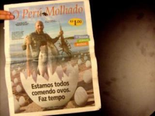 a143b maiorjornaldomundo - Curiosidades sobre Jornais impressos - Qual o menor e o maior jornal do mundo?