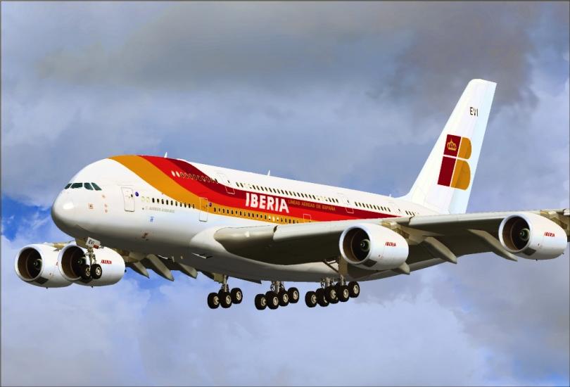164f9 7 avion iberia - Ranking: As 30 Companias aéreas mais pontuais do mundo