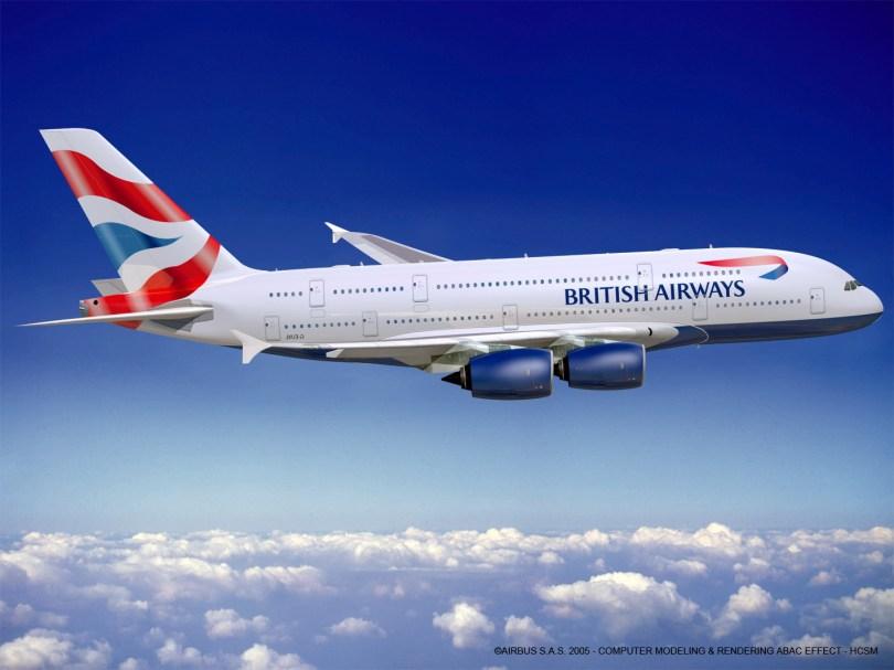 1a638 33 british airways - Ranking: As 30 Companias aéreas mais pontuais do mundo