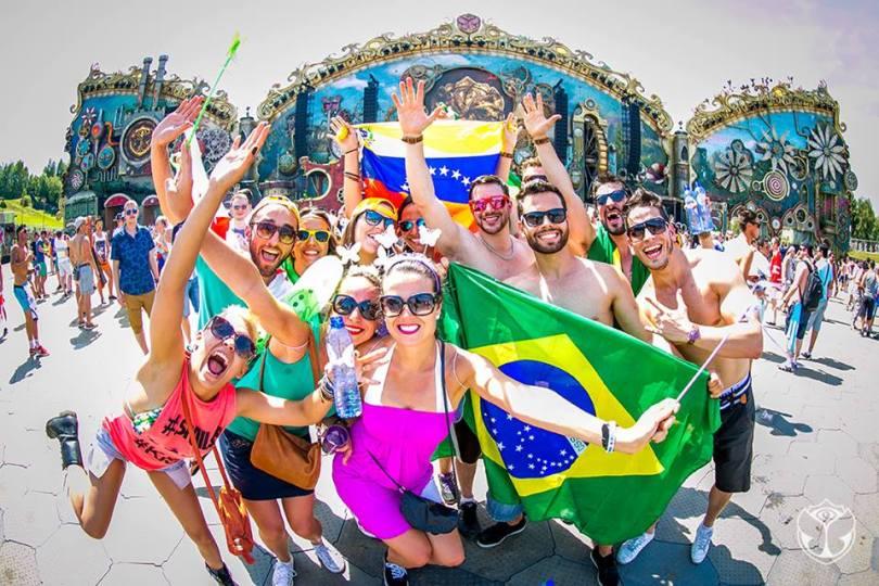 432e2 tomorrow land brasil 2016 logo simbol brazil party ww dj eletronic music - 1 hora de W&W no Tomorrowland Brasil 2016