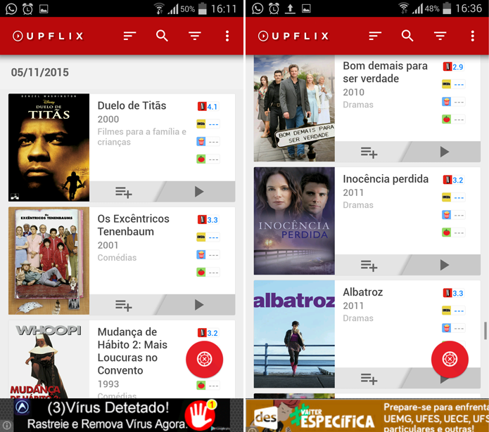 59e89 uopflix - Blogs não oficiais e Apps ajudam a noticiar lançamentos da Netflix