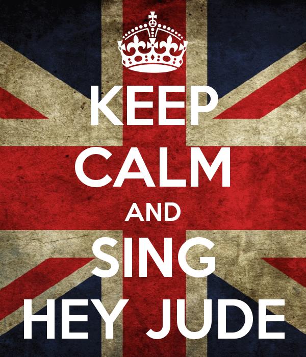 7406d hey jude beatles keep calm - Hey Jude - Versão brasileira de Paul McCartney / The Beatles