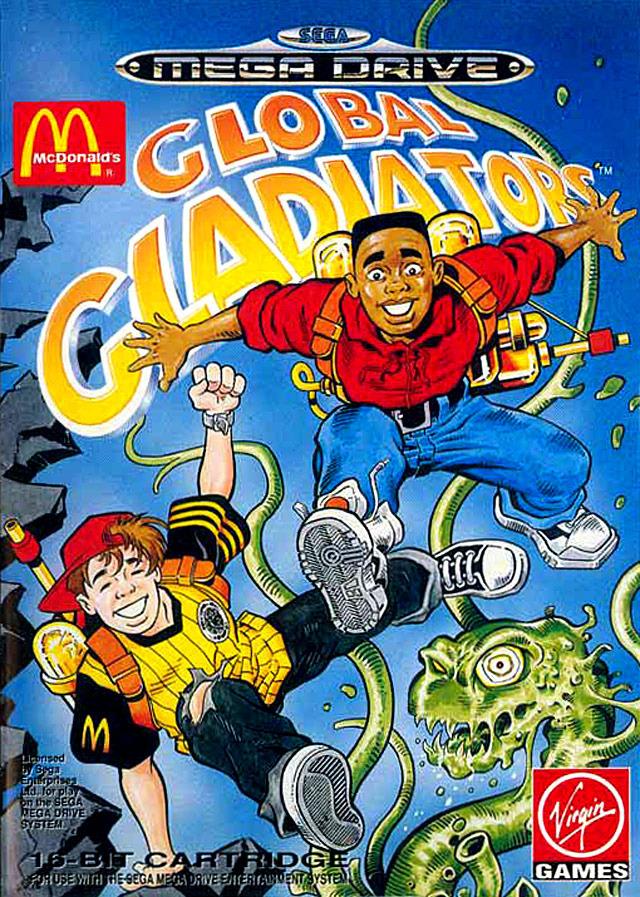 084b3 global gladiator mega - Global Gladiators? O jogo patrocinado pelo Mc Donald's