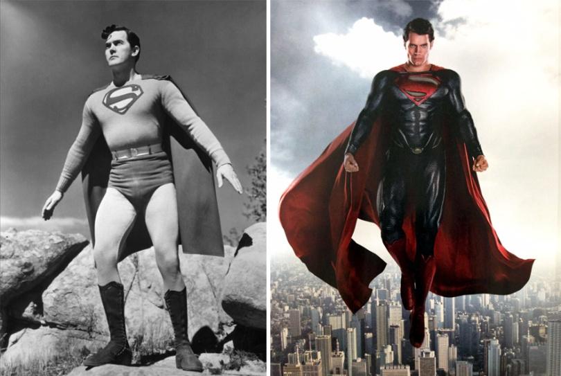 b392a super herois4 - Evolução dos super-herois e vilões de antigamente até os dias de hoje