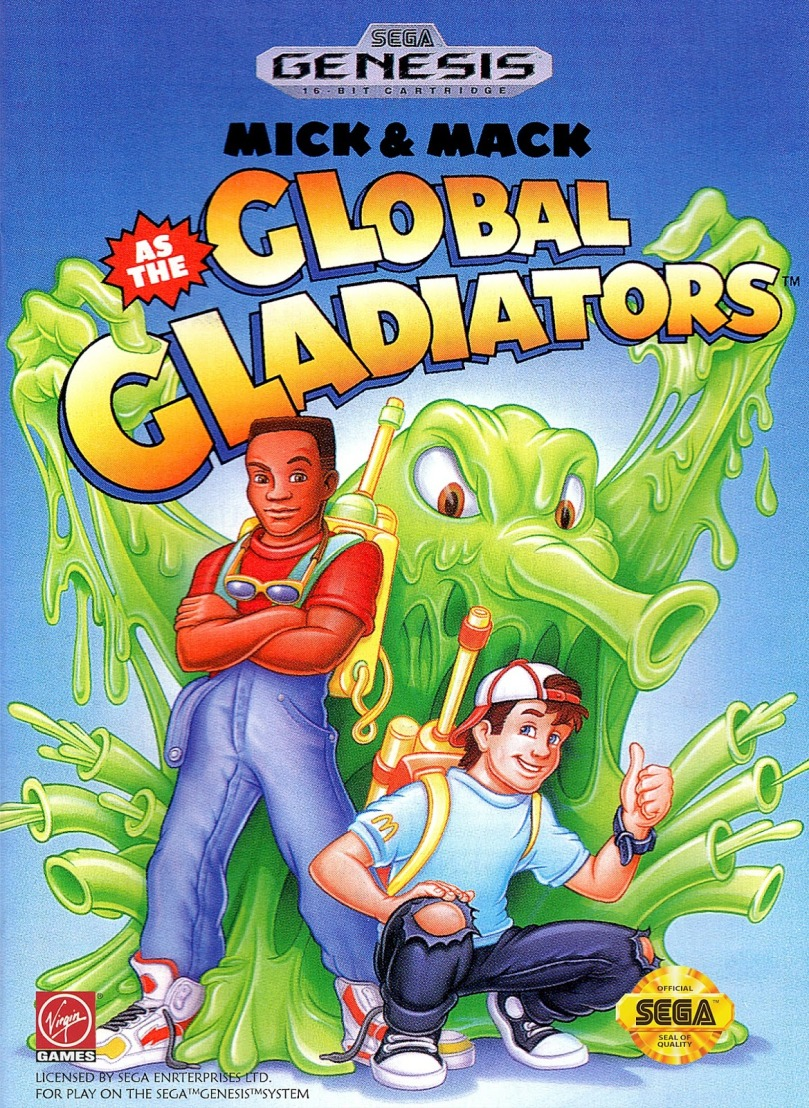 eef87 genesis globalgladiators - Global Gladiators? O jogo patrocinado pelo Mc Donald's